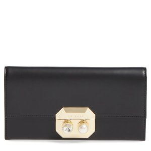 Ted Baker Patter Pearl Leather Matinee Purse